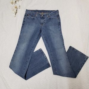 Ralph Lauren stretch bootcut Jean's size 6X34